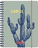 BRUNNEN 1071850021#Harmony Cactus - Agenda escolar semanal 2020/2021, 2 páginas = 1...