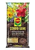 Compo Sana Substrato Universal de calidad para macetas con 12 semanas de abono para...