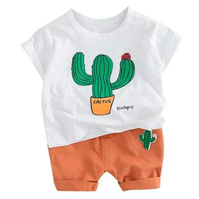 Conjunto de cactus para bebe
