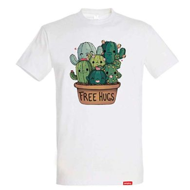 Camiseta con cactus de hombre