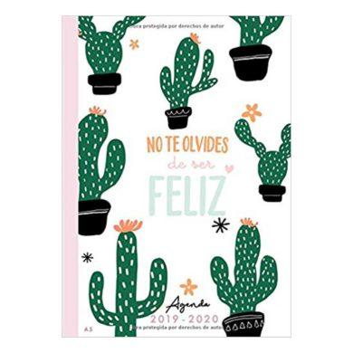 Agenda Blanca Semana Vista Cactus