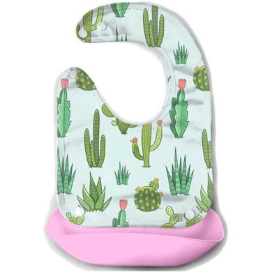 Babero de cactus