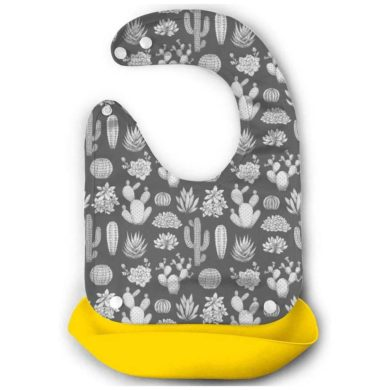 Babero de silicona de bebe