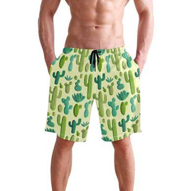 Bañador para hombre verde