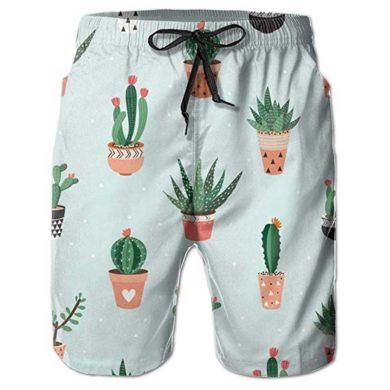 Bañador de niño con dibujos de cactus