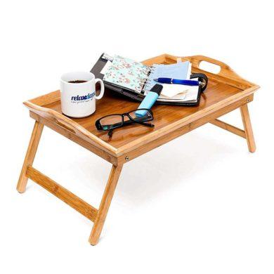 Bandeja de cama de madera
