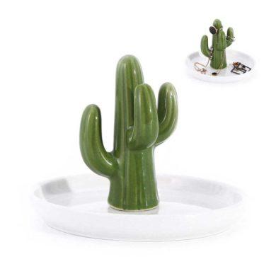 Bandeja porta anillos de cactus