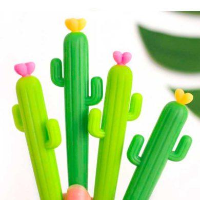 Bolígrafos de Cactus