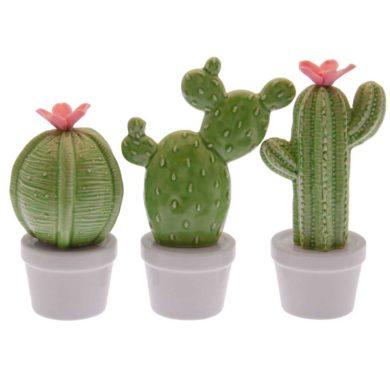 Cactus de cerámica