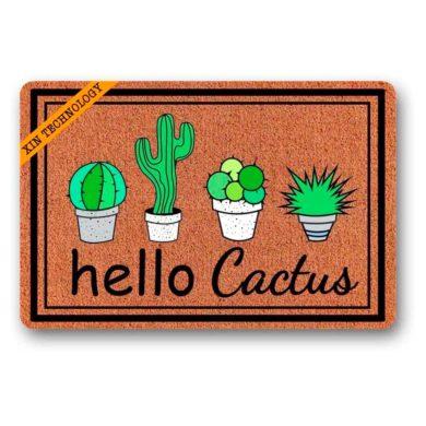 Felpudos de Cactus