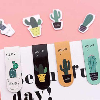 Marcapáginas de Cactus