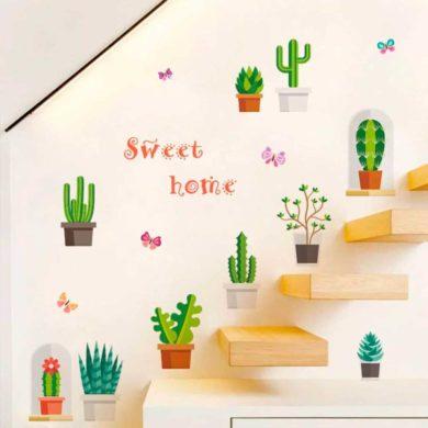 Pegatinas de Cactus