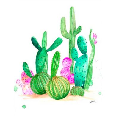 Poster de Cactus
