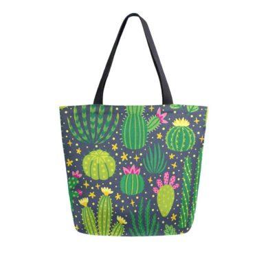 Bolsa de lona de cactus