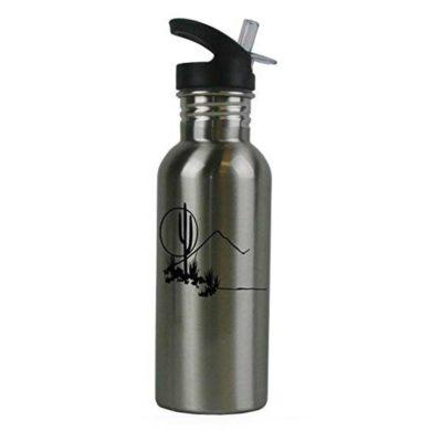 Botella de aluminio de cactus