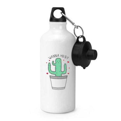 Botella de aluminio para deporte