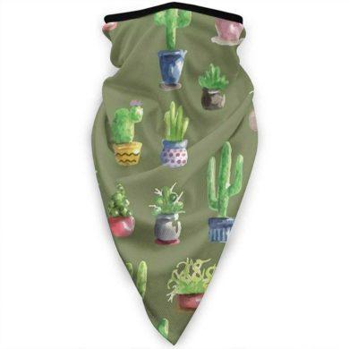 Bandana verde de cactus