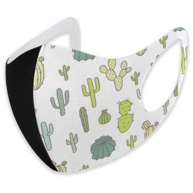 Mascarilla de cactus para adulto